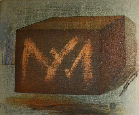 Pintura-contemporánea-de-Ricardo-Yrarrázaval-Sin-título