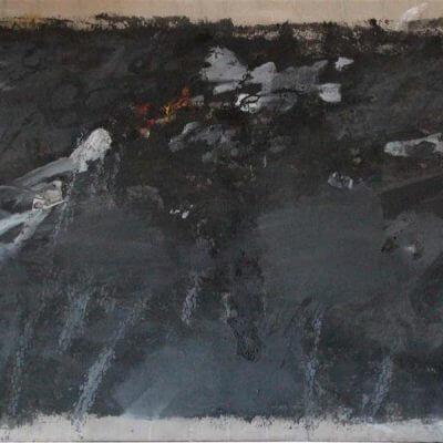 Pintura-de-Jose-Balmes-En-Tierra